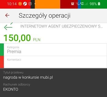 Mubi 150 zł