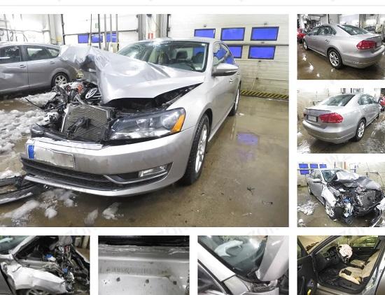 zdjęcia pojazdu uszkodzonego